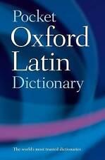 Pocket Oxford Latin Dictionary by Oxford University Press (Paperback, 2005)