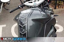 BMW K1300R 2008 09 10 11 12 13 Motorcycle Tank pad Motografix 3D Gel Protector