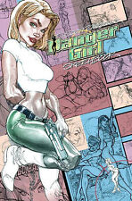 J. scott campbell Danger Girl SketchBook HC 1st Print IDW 2011 Hardcover New + +