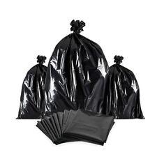 XXL Déchets Noir Sacs amovible sacs poubelles Nourriture Maison Nettoyage Sacs 1...