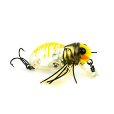 JACKALL Hamakuru Spider Topwater Bug Insect Lure 41mm 6.5g - CLEAR BEE