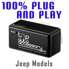 Performance Tuning Tuner Speed OBDII OBD2 OBD II 2 Chip Module ECU Map for Jeep