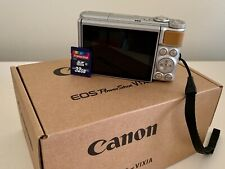 Canon PowerShot SX740HS 40x Zoom 4K w/ Charger & Battery + 32GB SDHC Memory Card