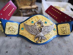 2019  Minor Flaws  WWWF Backlund Heavyweight Wrestling Championship Belt  Metal