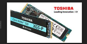 Toshiba XG5 PN 2TB M2 PCIe NVMe SSD Solid State Drive 2048GB ULTRAFAST new model