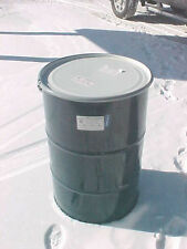 55 gallon metal steel barrel food grade bolt on removable lid top open barrels