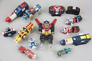 Vintage Voltron Action Figure Lot Robot Toy 80's Bandai Japan Transformer Lion