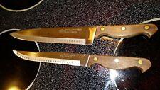 Wellington Swords Set Kitchen Knife Set Chef and Carving Knife Vintage Japan