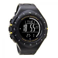 Weather Master-reloj digital con brújula, termómetro, altimeter, barómetros & alarma