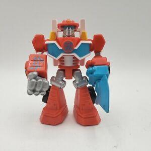 Imaginext Playskool figure Transformer Rescue Bots Heatwave