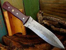 Full Tang Twist Pattern Damascus Steel Roman Infantry Dagger Knife A 48