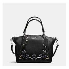 Coach F59348 SMALL KELSEY SATCHEL PEBBLE LEATHER STUDDED BORDER EMBELLISHMENT