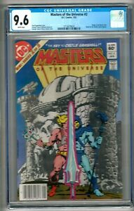 Masters of the Universe #2 (1983) CGC 9.6 White Pages  Kupperberg - Tuska
