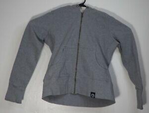 American Giant Classic Full Zip Hoodie Sweatshirt USA Women's Medium Gray