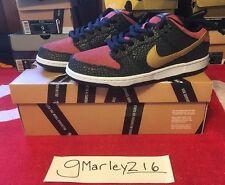 Nike Dunk Sb Low Premium Walk Of Fame Brooklyn Projects Qs Box Logo Cdg Size 9