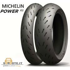 COPPIA PNEUMATICI MICHELIN PILOT POWER RS 120/70 ZR 17 58W 180/55 ZR 17 73W