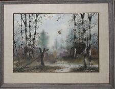 JOHN CARTER-Original Sporting Wildlife Watercolor- Woodcock Bird