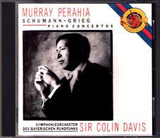 Murray PERAHIA, Colin DAVIS: GRIEG SCHUMANN Piano Concerto CD CBS Klavierkonzert