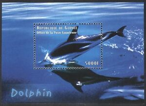 Guinea 1998 Dolphin/Marine Mammals/Nature/Wildlife 1v m/s (n40140)