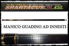manico spartacus 4.5 ad innesti per guadino carbonio pesca roubasienne bolognese