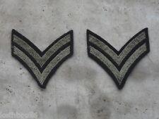 WW2 US ARMY CORPORAL shoulder chevrons,