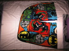 BATMAN Fleece Scarf Cat Woman Riddler Bat in the Sky Wide