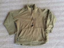 USMC Marine Corps Military Surplus Polartec Fleece Pullover Shirt Coyote LARGE