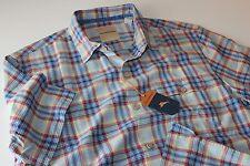 Tommy Bahama Camp Shirt Poipu Plaid Fresh Air T316702 100% Silk New Large L