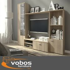 Living Room Furniture Set TV Wall Unit Stands Cabinet Cupboards Shelf Modern