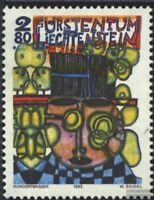 Liechtenstein 1060 (kompl.Ausg.) gestempelt 1993 Kunst