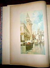 F. Hopkinson Smith, Venice of Today  Elephant Folio, 1896 Color Illustrations
