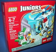 LEGO 10720 Juniors EASY TO BUILD POLICE HELICOPTER CHASE minifigure Age 4-7