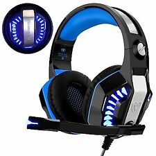 Gaming Headset for Xbox One Ps4 Beexcellent Super Comfort Noise Cancelling Ster