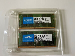 Crucial DDR4 RAM 32GB KIT (16GBx2) 3200 MHz SODIMM LAPTOP MEMORY NEW