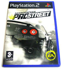 NEED FOR SPEED PROSTREET PRO STREET - PS2 PLAYSTATION -5030947059354- MODENA