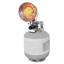 Single Tank Top Propane Gas Infrared Heater Portable Indoor Outdoor Dyna Glo NEW