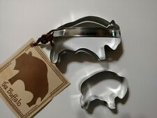 New listing Ann Clark The Buffalo Cookie Cutter With Recipe plus Baby Buffalo