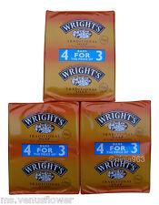 12 x 125g WRIGHT'S TRADITIONAL COAL TAR FRAGRANCE SOAP BARS