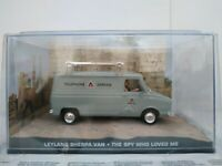 1/43 LEYLAND SHERPA VAN JAMES BOND THE SPY WHO LOVED ME IXO ESCALA SCALE DIECAST