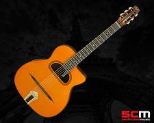 Aria MM10 Selmer Maccaferri Style Gypsy Jazz Acoustic Guitar Solid Spruce Top