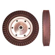 1 x 400mm HEAVY DUTY Black Rubber Tyred Wheel.Trolley/Truck/Cart*