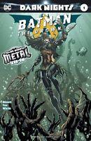 BATMAN THE DROWNED #1 METAL  DARK NIGHTS  DC COMICS 2nd print