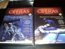 """LOT 2 DVD NEUF """"PELLEAS ET MELISANDE I & II"""" Les plus grands operas N°53 & 54"""