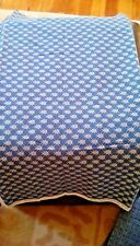 "designer collection cotton Calico_1.5 yd (45""W)_white Scarabs on Indigo"