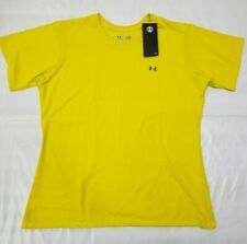 NEW! LOT OF 2 UNDER ARMOUR Women's SEMI FITTED T SHIRT Heat Gear LARGE