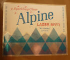 OLD USA BEER LABEL, ALPINE BREWING Co POTOSI WISCONSIN, ALPINE LAGER BEER