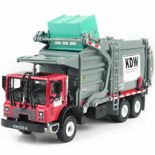 KDW 1:24 Scale Alloy Diecast Material Transporter Garbage Recycling Truck Toy