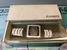S-12  Rare CASIO Casiotron 1976 WORLD-TIME Digital LCD Quartz watch uhr MOT