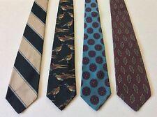 Lot of 4 Best of Class ROBERT TALBOTT 100% Silk Men's Ties