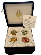 Faberge Napkin Rings Orig Price $650